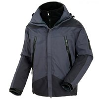 Wholesale High quality TERYX brand Men s hiking jacket outdoor thermal Fleece inner Waterproof coat skiwear Windbreaker Hunting Parka