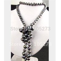 bead shaper - Pearl Jewelry Baroque Shaper inch MM Black Cultured Pearl Beads Necklace Fashion Jewelry Hot Sale New