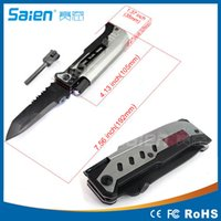 Wholesale Hot Sale Folding Survival Knife Tactical knife outdoor camping hunting rescue knives