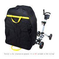 Sacos do Golf Trolley Golf elétrico pesado saco de viagem de carro saco impermeável capa protetora para Golf Club Negro Cor Y1549