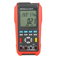 Wholesale HD HDS7218 Volt mA Calibrator Multifunction Process Calibrator Humidity Temperature Meter Tester w USB Interface