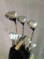 Wholesale 13PCS Full set Star Golf clubs Honma beres S driver S fairway woods Honma Beres IS golf Irons AS Putter
