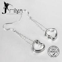 Cheap 925 Sterling Silver Jewelry drop Earings 2014 Brand New free shipping Beautif Earrings Dangle Earrings