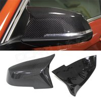 Wholesale Fashion For BMW X Series F20 F21 F22 F23 F30 F31 F32 F33 F36 X1 E84 M3 M4 Look Carbon Fiber Rear View Side Mirror Cover