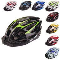 Wholesale 9 Colors Hot Sale Vents Ultralight EPS Outdoor Sports MTB Mountain Road Bike Bicycle Helmet Cycling Helmet with Visor