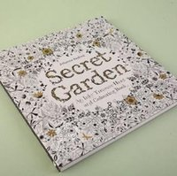 Wholesale 2015 hot Decompression Artifact Secret Garden An Inky Treasure Hunt and Coloring Book Secret Garden Coloring Book