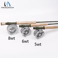 best fly fishing rods - Maxcatch Best Fly Fishing Rod Fly Reel Combo FT wt wt wt Fast Action Superfine Carbon Fiber Fly Rod