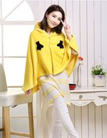 air conditioning spares - 2015 hot sale yellow man cartoon curtilage the cape cape cloak office air conditioning blanket lazy nap at the noon hour spare blankets the