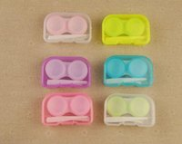 best contact lenses - 2016 Best Price Color Contact Lens Case Color Freshloo Contact Lens Box with Clip and matching color box