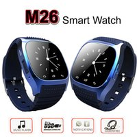 led led message - Smart Watch M26 Bluetooth Waterproof Smartwatch LED Display Sports Wrist Watches Pedometer Snyc iOS Android Smartphone iPhone Samsung HTC LG