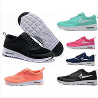 Wholesale New Cheap Sale Men s Women s Air Soft Cushion Fashion Thea Walking Shoes Brand Max Print Sneakers Outdoor