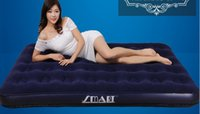 Wholesale Waterproof flocke Classic Downy Airbed