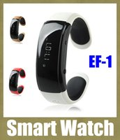 caller id watch phone - Bluetooth Bracelet EF Bluetooth Distance Vibrating Bracelet Watch for Mobile Phone Caller ID Time Display hands free xiaomi mi band OTH074