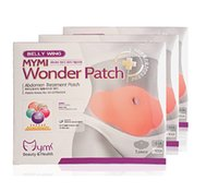 best weight loss patches - Best price DHL Belly Wing Mymi Wonder Patch Abdomen Treatment Loss Weight Products Health Fat Burning Slimming Body Waist Slim Mask