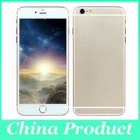 fake - 5 inch Dual Core i6s Plus Goophone i6s Plus Android Dual camera bluetooth Show fake G Smart Phone M ROM GB GB RAM