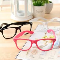 Wholesale fashionkorea glasses frame PC oculos plain Lens Sunglasse mirror glasses women fashion eyeglasses sunglasses frame cm HQS0000820