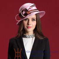 beach auger - 2014 New Fashion Women Hats Church Polyester Ribbons Hats Exquisite Beaded Pure Manual Set Auger Lace Diamond Casings Caps