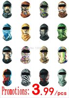 Wholesale D Brand Cycling Motorcycle Balaclava Headwear Ski Neck Protecting Masks Outdoor Bicycle Bike Hunting Protection Full Face Mask