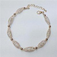 De alta calidad Infinity checa cuentas de cristal con brazalete de pulsera de encanto stardust para mujer