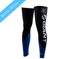 Wholesale Team giant Summer Sunscreen Mountain Bike Cycling Leg Sleeve knee warmers MTB Ciclismo Bicycle Cycling Leg Warmers Black pair
