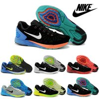 Wholesale Nike Lunar Men s Running Shoes High Quality Cheap Walking Shoes Suede Upper Jogging Shoes Sport Shoes