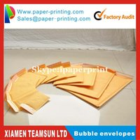 Wholesale Kraft Padded Bubble Mailers Padded Envelopes Bags quot quot cm cm Wrapping