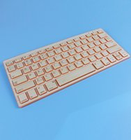 computer keyboard - Natural Handmade wireless Bluetooth keyboards series thinner Bamboo mini Keyboard materials Green product for PC computer