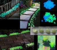 glow stone - Solar Glow Stone Artificial Lightweight Luminous Pebble Stone For Home Fish Tank Decor Garden Corridor Swimming Pool Decorations Fast