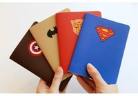 Wholesale Kawaii Hero Copybook Stationery Note book A6 Superman Notepad Diary Journal Memo Gift
