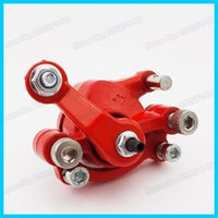 aprilia moped - Rear Right Red Disc Brake Caliper For cc cc cc Pocket Dirt Bike Gas Moped Scooter Mini Moto Motocross Atv order lt no track