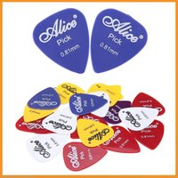 Wholesale Professional Guitar Parts Accessories Alice AP P mm Smooth ABS Guitar Picks Giutar Plectrums