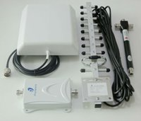 Wholesale 70dB GSM DCS G LTE MHz Mobile Phone Signal Repeater Amplifier Booster with Directional Antennas