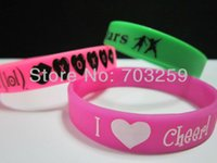 animal food names - 100pcs personalized silicone bracelet wristbands design cheap custom promotional gifts name barcelet with solid colour design