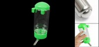 Wholesale IMC Doggy Dog Hanging Water Bottle Pet Dispenser Green Clear ml order lt no track