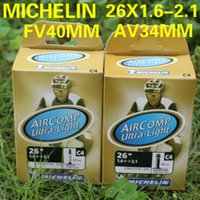 Wholesale MICHELIN AIRCOMP ULTRALIGHT C4 Mountain bike bicycle tire inner tube Schrader valve