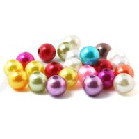Wholesale mm Mixed Pearl Beads Acrylic Spacer Ball Round Beads Fit Jewelry DIY BSG01