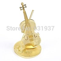 articles educational toys - Free New Metal Assembly Miniature D Puzzle Model Educational toys Metal handicraft furnishing articles birthday gift The violin