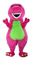 barney picture - Top Selling Real Pictures Barney Mascot Costume Fancy Dress Halloween Christmas Party Carnival Props