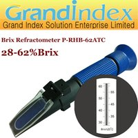 Wholesale 28 Brix refractometer P RHB ATC with Automatic Temperature Compesation