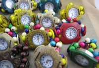 Wholesale Coconut shell wantches coir crafts watches children electronic watch gifts wholesale3