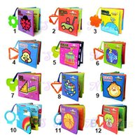 Wholesale Intelligence development Cloth Cognize Book Early Educational Toy for Kid Baby