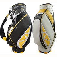 Wholesale 2015 Hot Tay Mens golf bags red blue black Standerd Pu golf bags high quality EMS ship