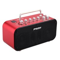 Wholesale Aroma TM W Electric Guitar Amp Amplifier Loudspeaker Speaker Built in Tuner Tap Function Effect Volume Tone Control Color