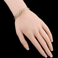 Wholesale Online Shopping China European and American Fashion Bracelet Gold Plating Factory Packet