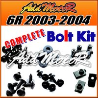 Wholesale Addmotor Pieces Set Black Complete Fairing Bolt Kit Body Screws Fasteners For Kawasaki ZX6R ZX R K63S
