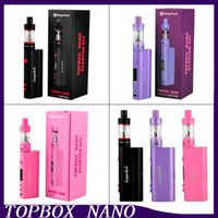 Precio de Evic joytech-2016 Kit Kit Nueva Kang Topbox Nano arranque clon Kangertech 60w TC Box Mod Kit TOPTANK Nano 3,2 ml VS <b>Joytech Evic</b> VTC