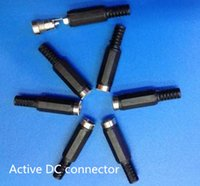 active electrical - 1000pcs DHL Fedex EMS Active DC female male connector for led soft strip light SMD