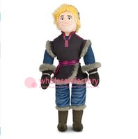 christmas toys - 2014 Cartoon Movies Frozen Kristoff Image Stuffed Soft Plush Toys cm Dolls for Boys Christmas Gifts BO6957