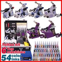 Cheap Professional multi tattoo machine tattoo kit tattoo machine tattoo equipment full range of equipment