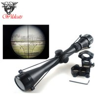 Rifle Scopes Aircraft-Grade Aluminum Alloy China Free shipping Wholesale Air soft Pro 3-9x40 Hunting Mil Dot Air Rifle Gun Optics Sniper Deer Hunting Scope + 11 mm Rail Mounts